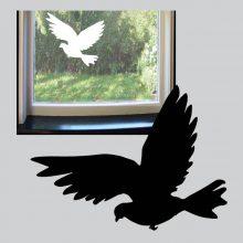 Raamsticker Vliegende duif vb