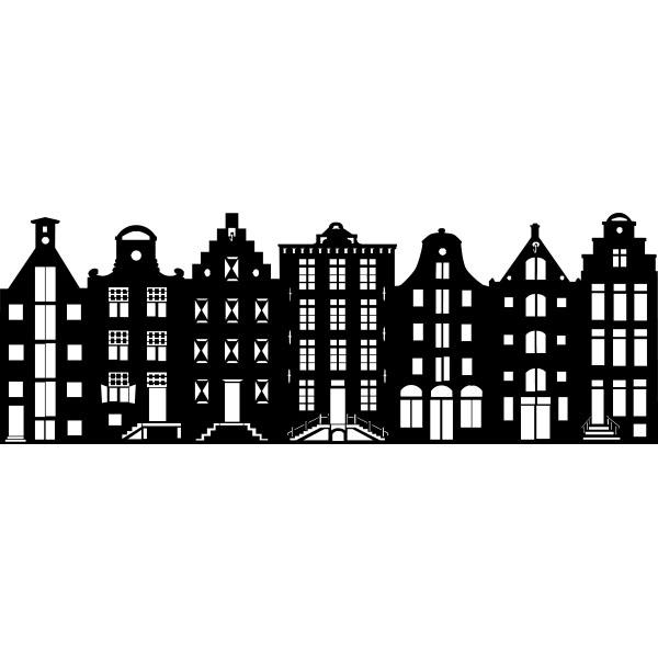 Raamfolie Aan de Amsterdsamse Grachten