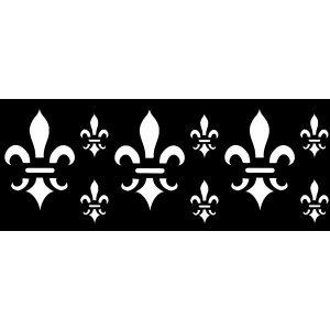 Raamfolie Franse Lelie