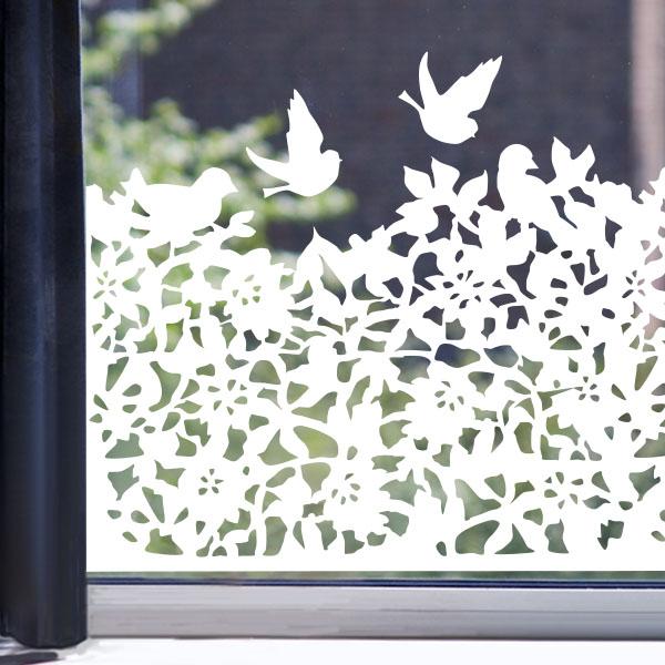 raamfolie vogelheg � raamstickers van lipdus
