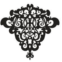 Raamsticker Elegant