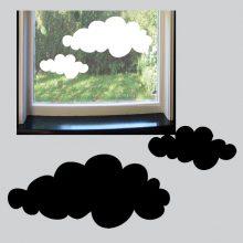Raamsticker Wolken