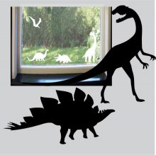 Raamstickers Dino's