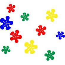 Raamstickers FlowerPower