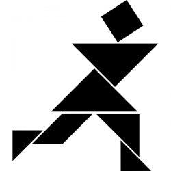 raamsticker-tangram