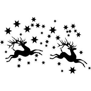 rendieren met sterren