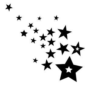 raamstickers-sterenregen