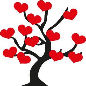 raamsticker-lovetree