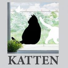 Raamstickers van Katten