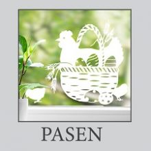 Raamsticker Pasen