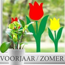 Raamsticker Voorjaar / Zomer / Lente