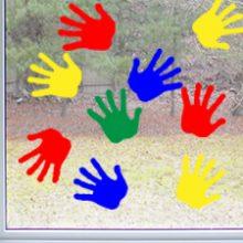 raamstickers handjes
